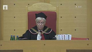 La presidenta del Tribunal Constitucional de Polonia