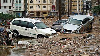 أضرار اعصار شاهين - اليمن 07 أوكتوبر 2021