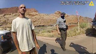 Brian Laundrie (23 - links) im September auf einem Polizeibild