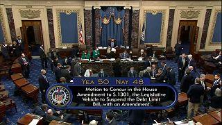 مجلس الشيوخ الأمريكي.