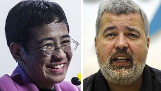 Les journalistes Maria Ressa et Dimitri Muratov, lauréats du prix Nobel de la paix 2021