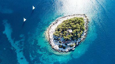 Hvar, Croatia takes third place