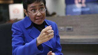 Η Φιλιππινέζα δημοσιογράφος Μαρία Ρέσα