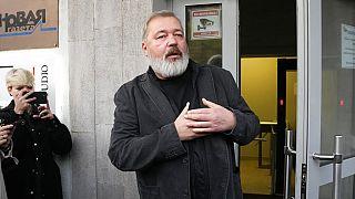 Dmitry Muratov lembra mártires da liberdade de expressão