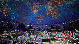 Opening ceremony of Expo 2020, in Dubai, United Arab Emirates on September 30th, 2021.
