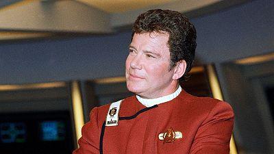 William Shatner, who portrayed Capt. James T. Kirk in Star Trek, in 1988.
