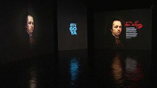 Goya desde dentro de lienzos y grabados