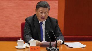 الرئيس الصيني شي جينبينغ.