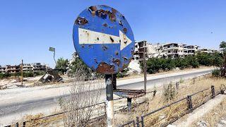 ARCHÍV: a közép-szíriai Homsz 2016. szeptember 19-én