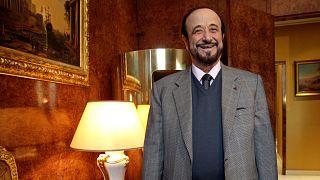 رفعت الأسد عم الرئيس السوري بشار الأسد يحاكم في باريس.
