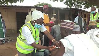 Abuja worshippers offered virus jabs near mosque