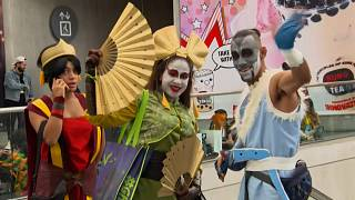 New York Comic Con is back for its first in-person event since  2019