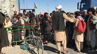 حدود أفغانستان مع إيران.