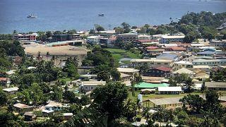 هونيارا عاصمة جزر سليمان. 2018/11/28