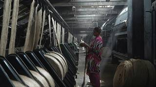 مصنع يعمل على استعادة مجد الجوت المفقود في الهند.