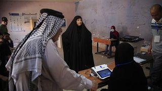 Wahlbüro in Bagdad