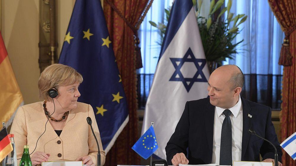 Merkel advierte sobre aumento del antisemitismo en la última visita oficial a Israel