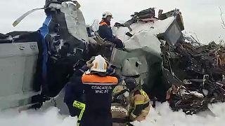 Разбившийся в Татарстане самолет L-410