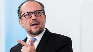 وزير الخارجية ألكسندر شالنبرغ.