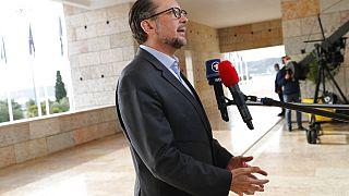 Ο αυστριακός υπουργός Εξωτερικών Αλεξάντερ Σάλενμπεργκ