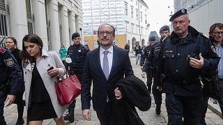 Le futur chancelier autrichien, Alexander Schallenberg, 10 octobre 2021, Vienne (Autriche)
