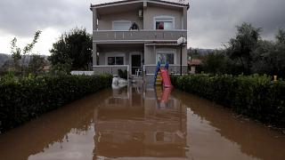 Καταστροφές στην Εύβοια