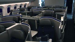 Business-class seats