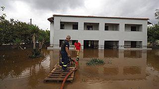 Inondations en Grèce : 20 millions d'euros promis pour l'île d'Eubée