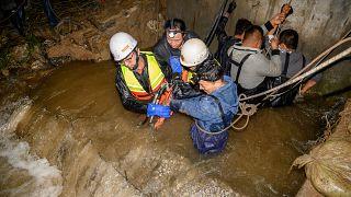 Überschwemmungen in Shanxi