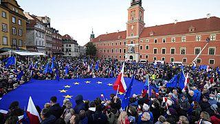 A varsói tüntetés