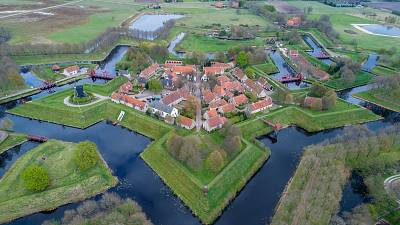 Bourtange is a village in the Netherlands, situated in the Westerwolde region in the east of Groningen.