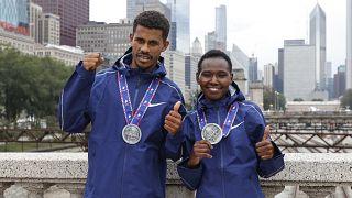 Marathon : l'Éthiopien Tura et la Kényane Chepngetich sacrés à Chicago