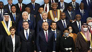 Belgrado, foto di gruppo inaugurale del summit