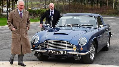 Prince Charles runs his beloved Aston Martin on bioethanol derived from wine and cheese whey.