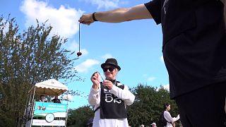 250 participants aux championnats du monde de Conkers en Angleterre