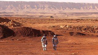 """من """"القاعدة المريخية"""" جنوب إسرائيل"""