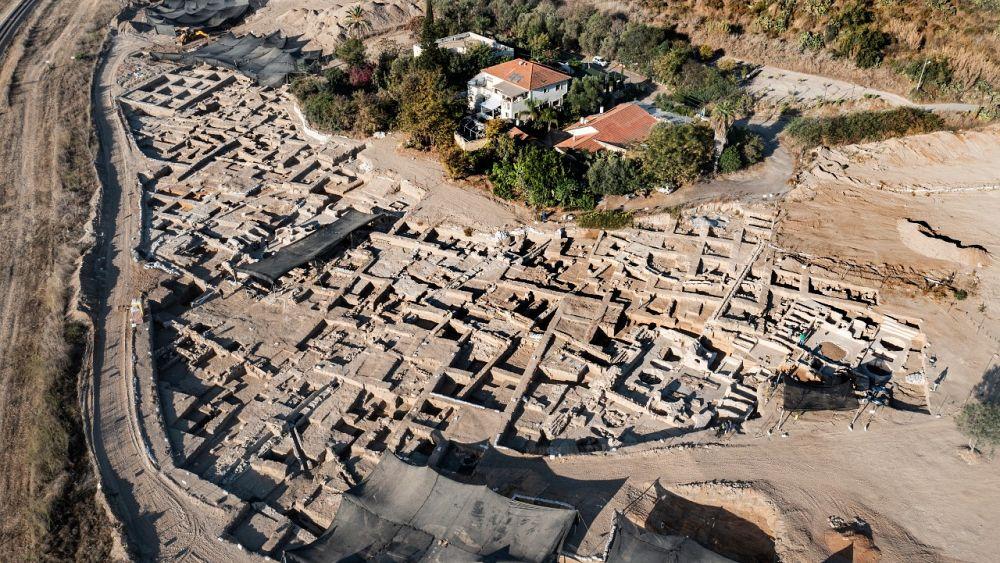 Antiguo complejo vitivinícola descubierto en el centro de Israel