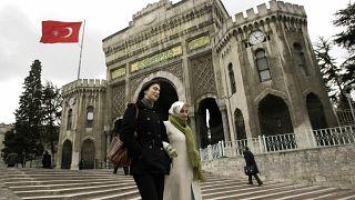 İstanbul Üniversitesi girişi (Arşiv)