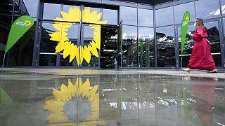 Gebäude des Parteikongresses der Grünen, 12.06.2021