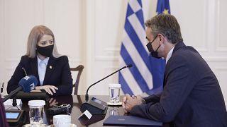 Κυριάκος Μητσοτάκης - Αννίτα Δημητρίου
