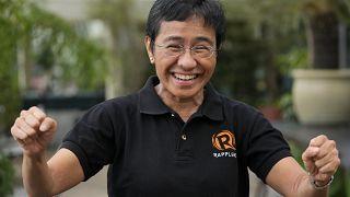 Maria Ressa az idei Nobel-békedíj egyik díjazottja