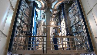 Az MVM Balance Zrt. Észak-budai Kogenerációs Fűtőerőműve