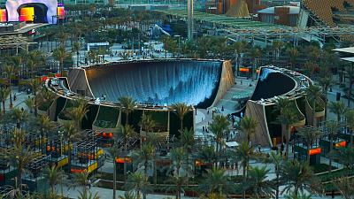 'Surreal': The new water feature at Dubai Expo 2020