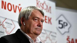 Vojtech Filip, a KSCM elnöke a választási eredmények kihirdetése után lemondott