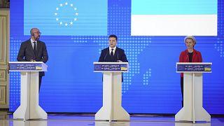 Σύνοδος Κορυφής Ουκρανίας - ΕΕ: Διαβεβαιώσεις για συνδρομή στην ενέργεια