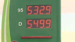 Történelmi csúcson a gázolaj átlagára