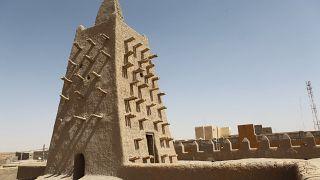 أحد الأضرحة بمدينة تمبكتو في مالي