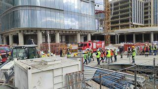 Ümraniye'de yapımı süren İstanbul Finans Merkezi (Arşiv)