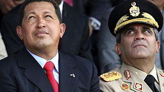 Präsiden Maduro mit General Baduel - ARCHIV