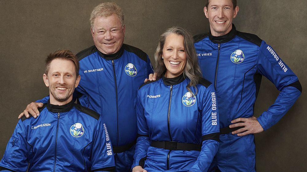 Mira: la estrella de Star Trek William Shatner, de 90 años, se lanza al espacio con Blue Origin